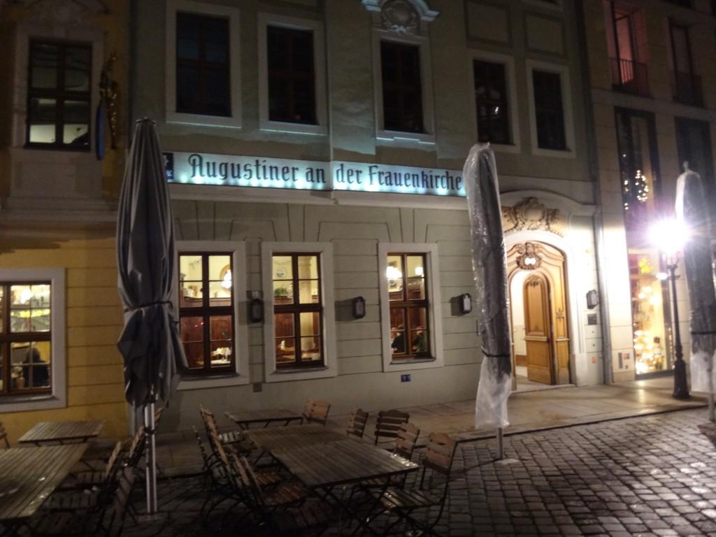restaurant augustiner an der frauenkirche dresden galerie reiseforum reiseberichte. Black Bedroom Furniture Sets. Home Design Ideas